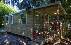 Cottage Nature Duo (33m²), 2 chambres + terrasse couverte. LINGE DE LIT FOURNI.