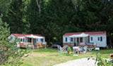 Rental - Cottage Tamaris with 3 bedrooms and a covered terasse. 34m² - Camping Sites et Paysages DE VAUBARLET