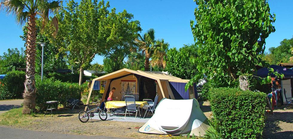 Emplacement - Emplacement Camping - Camping Domaine des Champs Blancs