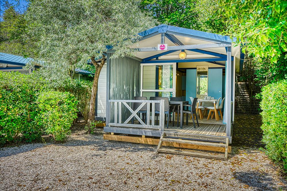 Location - Chalet Climatise - Camping Domaine des Champs Blancs