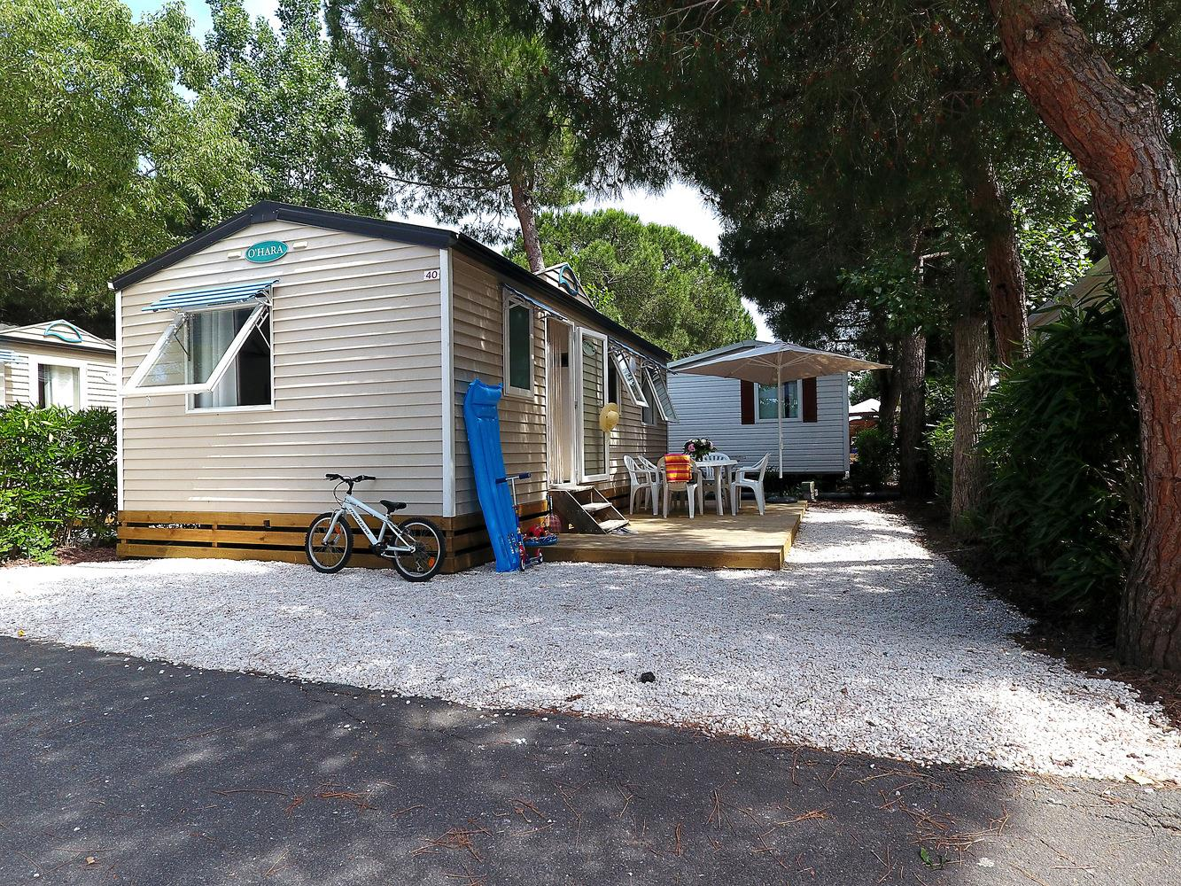 Location - Mobilhome Standard - Camping Domaine des Champs Blancs