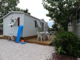 Rental - Mobile Home Confort (Air-Conditioning + Tv) - Camping Les Champs Blancs