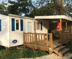 Rental - Mobile-home DUO 18 m² - 1  bedrooms - Le Moulin du Bleufond-Lascaux