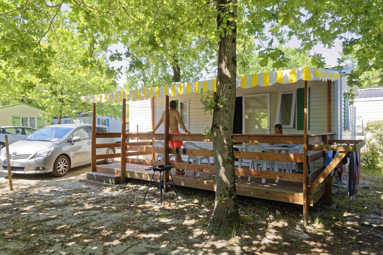 Location - Mobil-Home 2 Ch - Camping Club Les Lacs