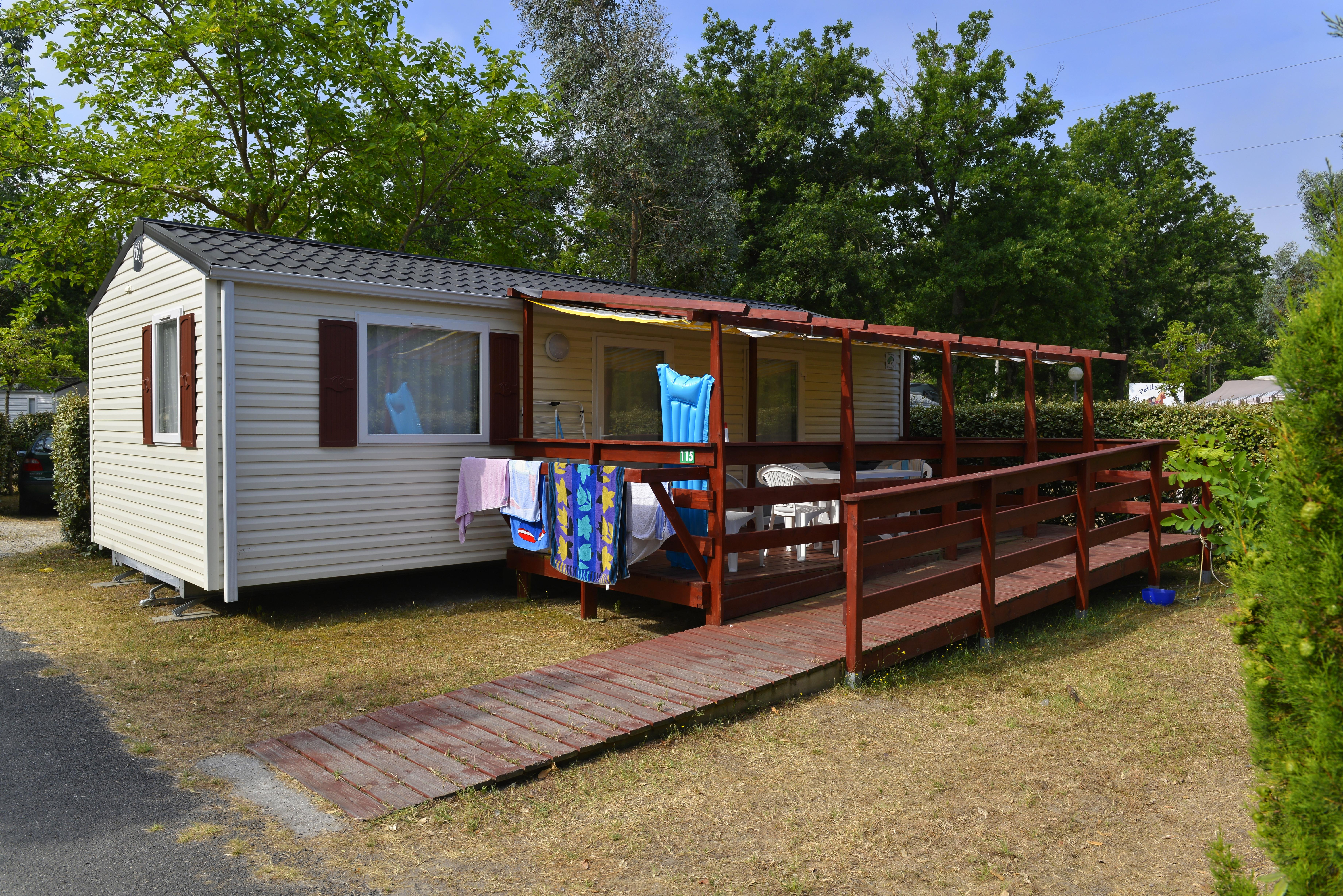 Wheelchair friendly Camping Club Les Lacs - Soulac sur Mer