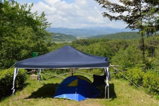Pitch For Car Or Motorbike And Tent