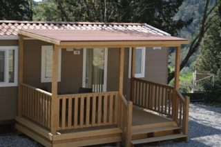 Mobil-Home Standard Package 2 pers. with kitchen -  tourist taxes not included