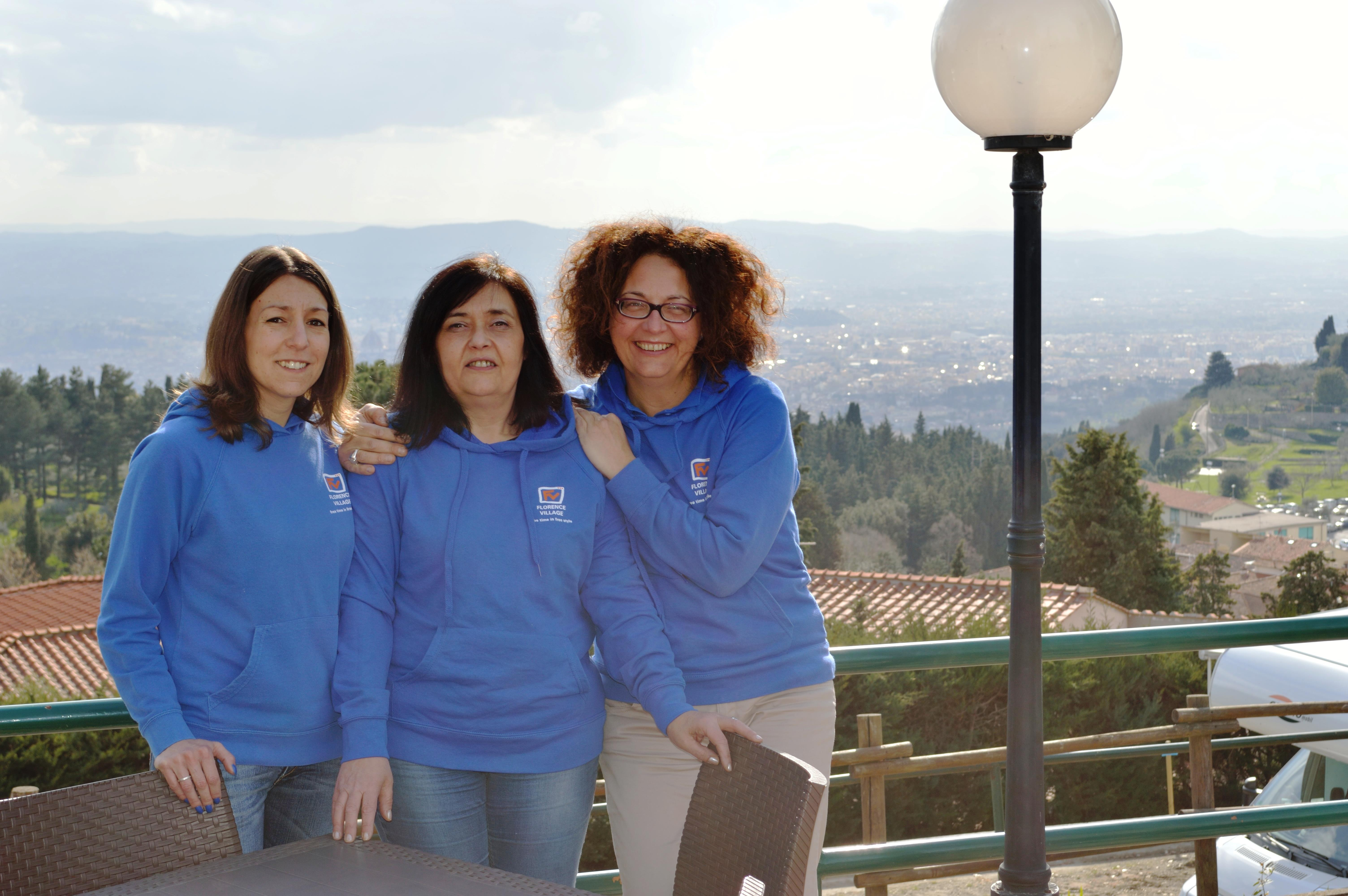 Equipe d'accueil Camping Village  Panoramico Fiesole - Fiesole