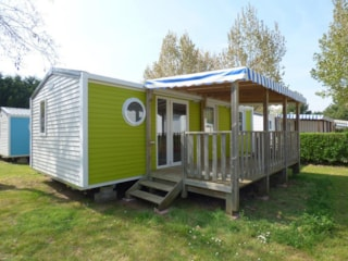 Mobil-Home Evasion 3 Bedrooms 29M² - Sheltered Terrace 12M²