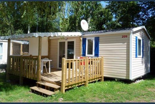Mobil Home COSY 22m² + Terrasse -5 Jahre