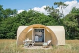 Rental - Mobile Home Coco 2 Bedroom) - Without Toilet Block N°3 - Camping Bagatelle
