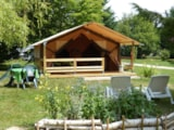 Rental - Bungalow Lodge Victoria - Camping les Ripettes