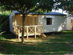 Rental - Mobile Home 2 Bedrooms + Terrace - 28M² - Camping Le Pastural