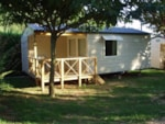 Locatifs - Mobil home 2 chambres + terrasse - 28m² - Camping Le Pastural