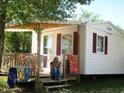 Location - Mobil-Home Mini Habana Duo - Capfun - Camping Le Sagittaire