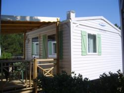 Location - Mobil-Home Petite Provence Jumelée - Capfun - Camping Le Sagittaire