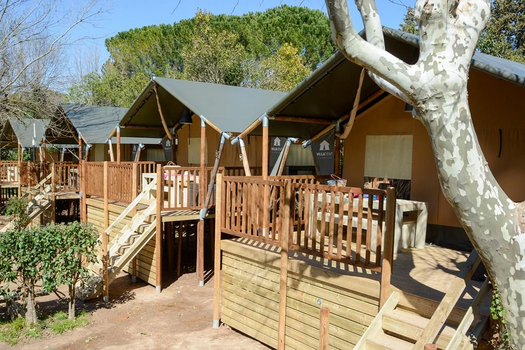 Location - Lodge 35M² /2 Chambres - Camping Les Pêcheurs