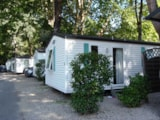 Rental - Mobile home Confort Ophéa 734 29m² - 2 bedrooms + terrace - Camping Au Vallon Rouge