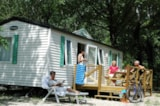 Rental - Mobilhome Privilege Ophéa 784 31m² - 3 bedrooms + terrace - Camping Au Vallon Rouge