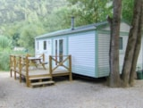 Rental - Mobile home Privilege Ophéa 784 31m² - 2 bedrooms + terrace - Rivers - Camping Au Vallon Rouge
