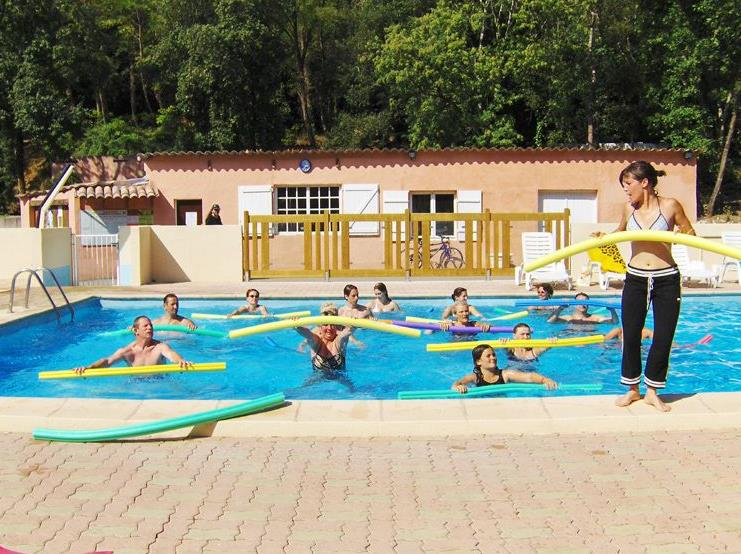 Sport activities Camping Au Vallon Rouge - LA COLLE SUR LOUP
