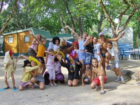 Entertainment organised Camping Au Vallon Rouge - LA COLLE SUR LOUP