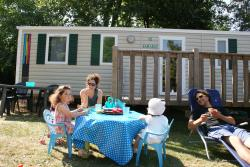 Family Mobil Home BERMUDES (150m from the campsite) 3 bedrooms