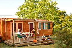Locatifs - Mobil Home 33M² (3 Chambres) + Climatisation - Camping les 4 Saisons