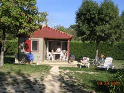 Rental - Chalet Reve Confort Air-Conditioned 2 Bedrooms - GERVANNE CAMPING