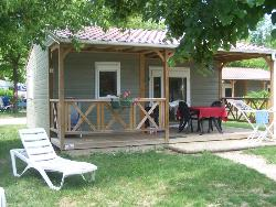Accommodation - Chalet Canelle 2 Bedrooms - GERVANNE CAMPING