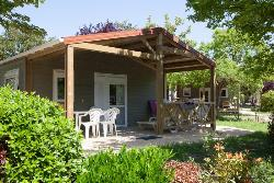 Huuraccommodatie - Chalet Origan For Guests With Limited Mobility - GERVANNE CAMPING