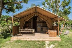 Accommodation - Tente Lodge Luxe 2 Bedrooms - GERVANNE CAMPING
