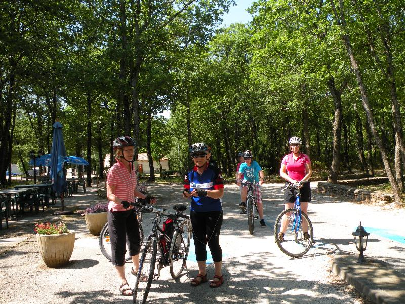 Sport activities Camping LES TRUFFIERES - GRIGNAN