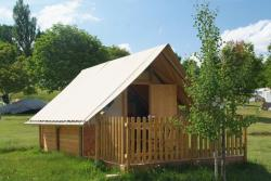 Rental - Hut Edelweiss (Without Toilet Blocks) - Camping CHAMP LA CHEVRE