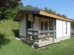 Rental - Chalet Alizé 1 Bedroom - Camping CHAMP LA CHEVRE