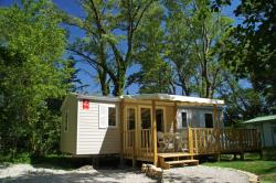 Accommodation - Mobile-Home 3 Bedrooms - Camping Les Rives de l'Aygues