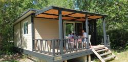 Location - Chalet  2 Chambres - Camping Les Rives de l'Aygues
