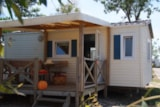 Rental - EVASION 4 pers. + place for 1 vehicle - Camping Les Palmiers