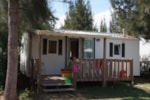 Rental - COLORADO with TV + 1 vehicle (s/s) - Camping Les Palmiers