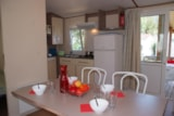 Rental - COLORADO 6 pers. with TV + place for 1 vehicle - Camping Les Palmiers