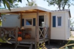 Rental - EVASION + place for 1 vehicle - Camping Les Palmiers