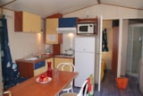 Rental - OREGON 8 pers. with TV + place for 2 vehicles - Camping Les Palmiers