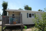 Rental - Montana 6 Pers. + Place Per 1 Car Eco - Camping Les Palmiers