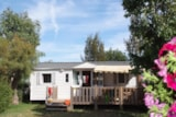 Rental - Texas 8 Pers. + Place Per 2 Cars Eco - Camping Les Palmiers