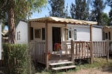 Rental - Idaho 4 Pers. + Place Pour 1 Véhicule (2 Nuits) Standard - Camping Les Palmiers