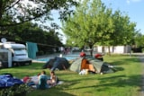 Pitch - Pitch + car + tent or caravan + electricity - Camping du Breuil