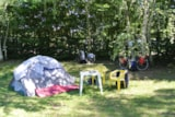 Pitch - Pitch without electricity (1 car + 1 tent/caravan) - Camping du Breuil