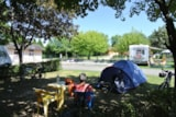 Pitch - Comfort Package, With Electricity - Camping du Breuil