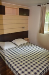 Rental - mobile home Riviera - Camping Les Peupliers
