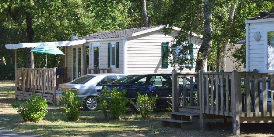 Location - Mobil-Home Riviera - Camping Les Peupliers